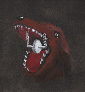 Bellen Hunde Zahnrad
