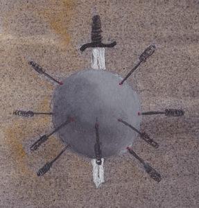 TCM Nadeln Schwert