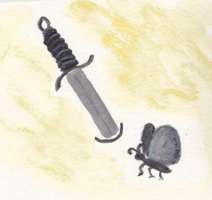 Schwert Falter