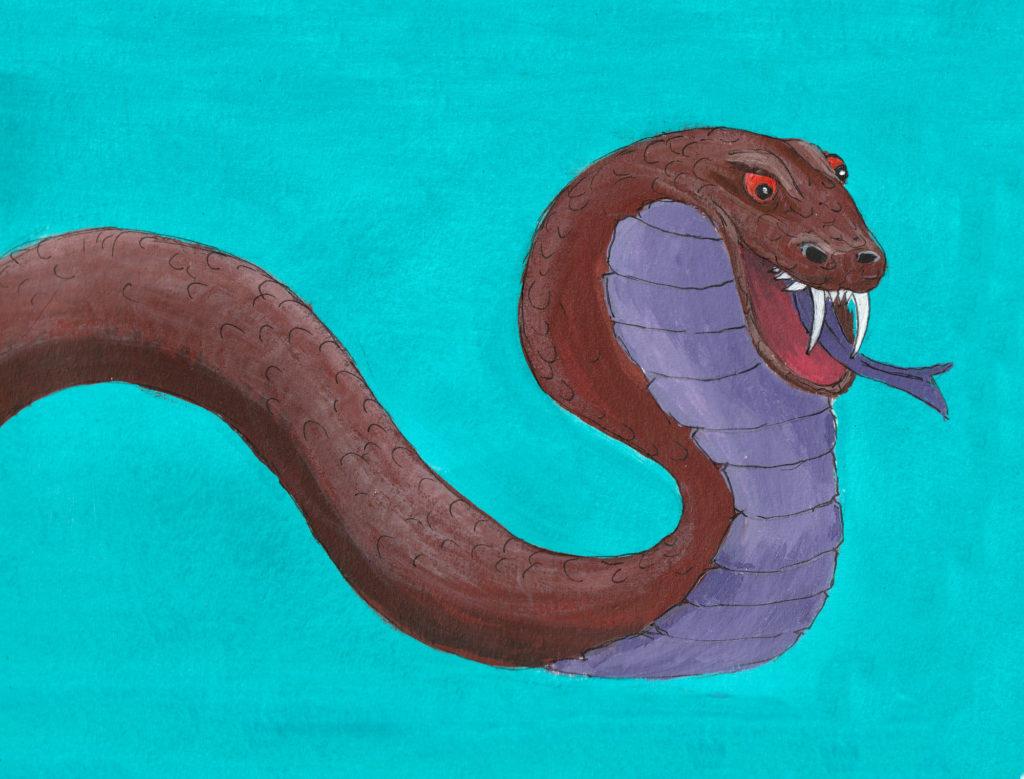 Schlange Schreck Angst