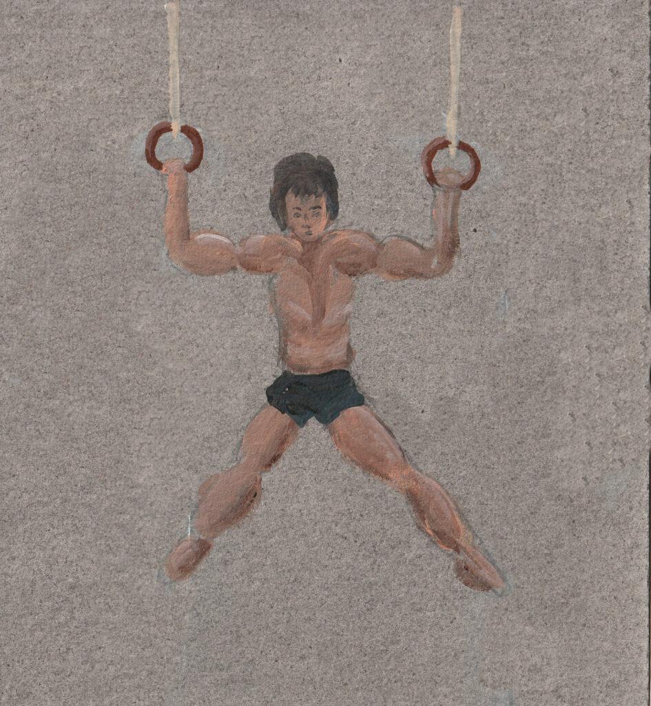 Muskelkraft Ringe Turner