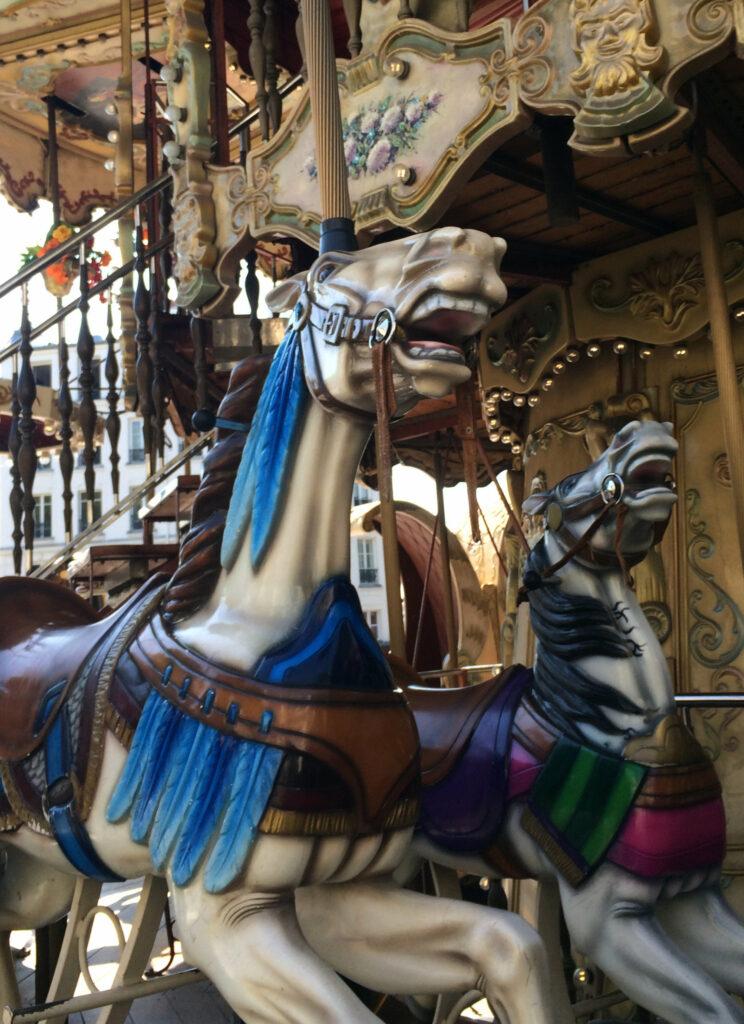 Pferde Karrussel