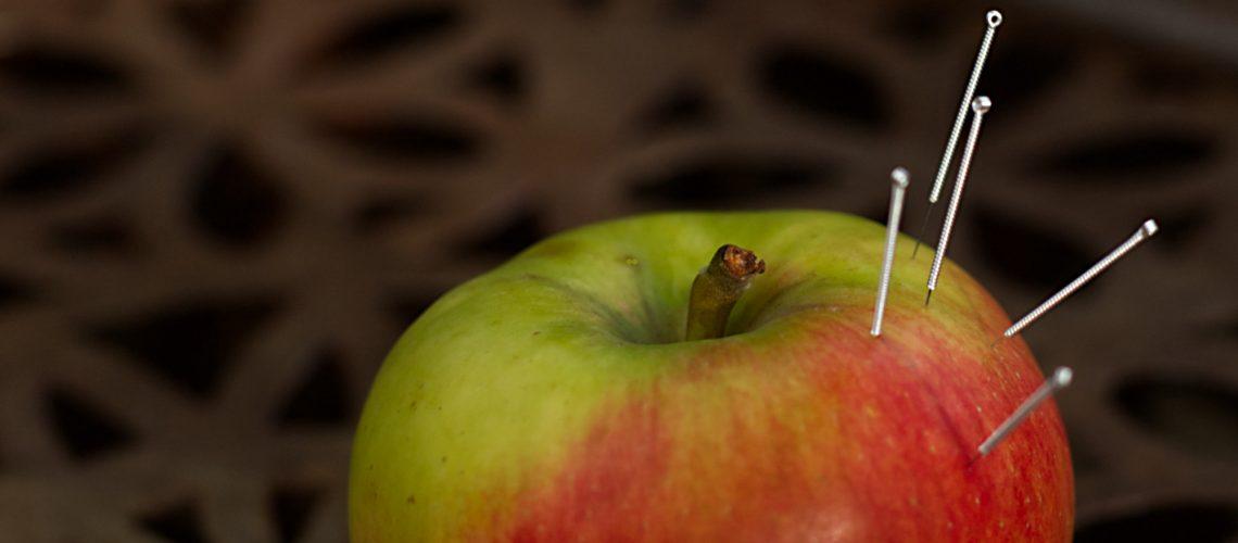 Akupunktur Apfel